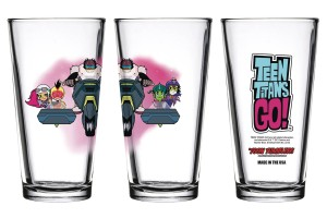 TOON TUMBLERS NIGHT BEGINS TO SHINE TEAM CYCLE PINT GLASS