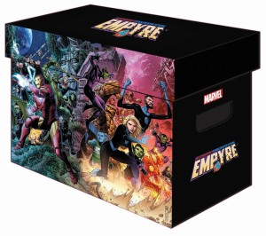 MARVEL GRAPHIC COMIC BOX EMPYRE (PUDŁO NA KOMIKSY)