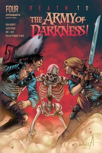 DEATH TO ARMY OF DARKNESS #4 CVR B DAVILA