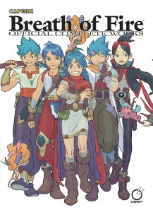 BREATH OF FIRE OFFICIAL COMPLETE WORKS HC