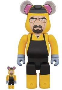 BREAKING BAD WALTER WHITE 100% & 400% BEA 2PK