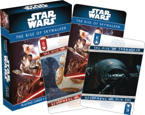 STAR WARS RISE OF SKYWALKER PLAYING CARDS