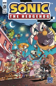 SONIC THE HEDGEHOG #31 CVR A YARDLEY