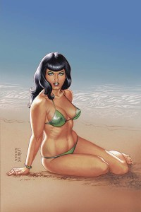 BETTIE PAGE #1 LINSNER LTD VIRGIN VAR