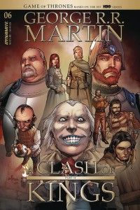 GEORGE RR MARTIN A CLASH OF KINGS #6 CVR B RUBI