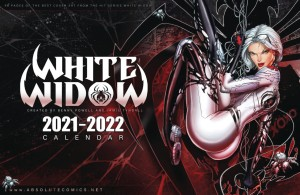 WHITE WIDOW 24 MONTH 2021 2022 WALL CALENDAR