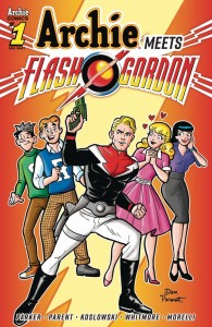 ARCHIE MEETS FLASH GORDON ONESHOT CVR A PARENT