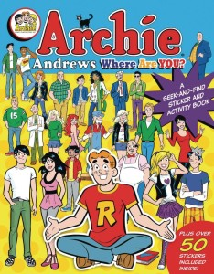 ARCHIE ANDREWS WHERE ARE YOU SEEK AND FIND BOOK