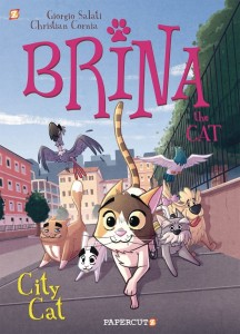 BRINA THE CAT GN VOL 02 CITY CAT