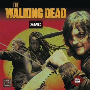 WALKING DEAD AMC 2021 WALL CALENDAR