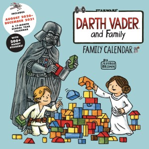 DARTH VADER & FAMILY 2021 WALL CALENDAR