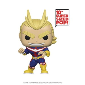POP ANIMATION MY HERO ACADEMIA ALL MIGHT 10IN FIG