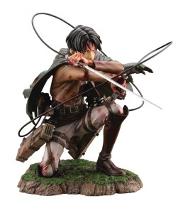 ATTACK ON TITAN LEVI ARTFX J STATUE FORTITUDE VER