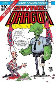 SAVAGE DRAGON #250 CVR E YOUNG