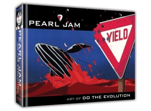 PEARL JAM ART OF DO THE EVOLUTION HC