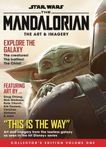 STAR WARS MANDALORIAN ART COLL NEWSSTAND ED #1