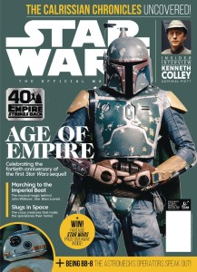 STAR WARS INSIDER #197 NEWSSTAND ED