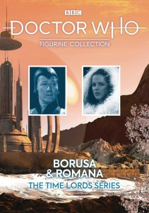DOCTOR WHO TIME LORD SERIES #2 ROMANA MARY TAMM AND BORUSA