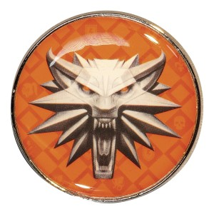 WITCHER 3 SCHOOL OF WOLF ENAMEL PIN