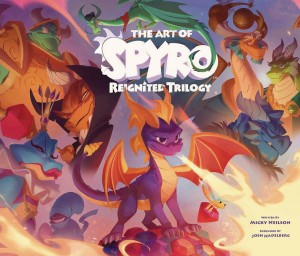 ART OF SPYRO REIGNITED TRILOGY HC