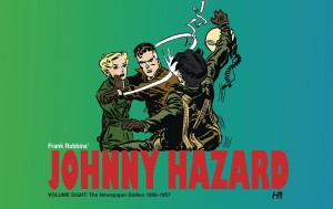 JOHNNY HAZARD DAILIES HC VOL 08 1956-1957