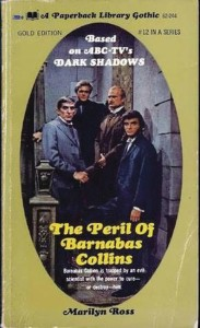 DARK SHADOWS PAPERBACK LIBRARY NOVEL 12 PERIL OF BARNABAS COLLINS