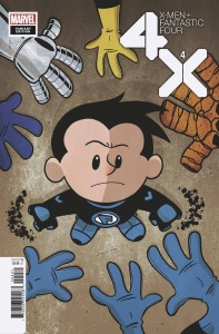X-MEN FANTASTIC FOUR #4 (OF 4) ELIOPOULOS VAR