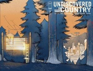 UNDISCOVERED COUNTRY #7 2ND PTG