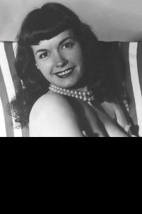 BETTIE PAGE #5 BLACK BAG PHOTO CVR