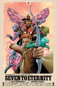 SEVEN TO ETERNITY #15 CVR A OPENA & HOLLINGSWORTH