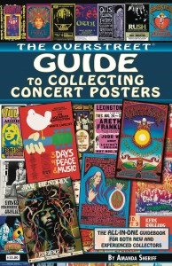OVERSTREET GUIDE SC COLLECTING CONCERT POSTERS