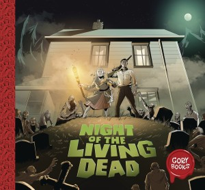 GORY BOOKS 01 NIGHT OF THE LIVING DEAD CVR A PERKINS