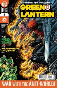 GREEN LANTERN SEASON TWO (2) #8 (OF 12) CVR A LIAM SHARP