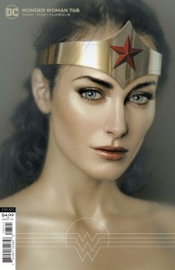 WONDER WOMAN #765 CVR B JOSHUA MIDDLETON CARD STOCK VAR