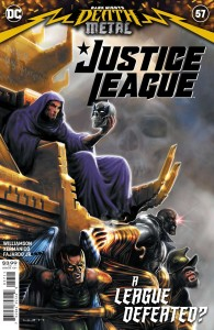 JUSTICE LEAGUE #57 CVR A LIAM SHARP (DARK NIGHTS DEATH METAL)