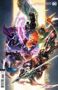 JUSTICE LEAGUE #57 CVR B PHILIP TAN VAR (DARK NIGHTS DEATH METAL)