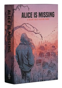 ALICE IS MISSING BOARD GAME
