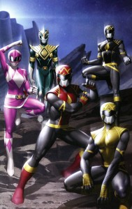 MIGHTY MORPHIN #1 ONE PER STORE VAR YOON