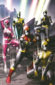 POWER RANGERS #1 1 PER STORE WRAPAROUND