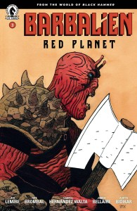 BARBALIEN RED PLANET #3 (OF 5) CVR A WALTA