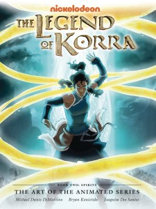 LEGEND OF KORRA ART ANIMATED HC VOL 02 SPIRITS 2ND ED