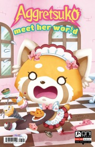 AGGRETSUKO MEET HER WORLD #1 CVR B STARLING
