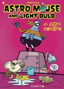 ASTRO MOUSE AND LIGHT BULB GN VOL 01 VS ASTRO CHICKEN