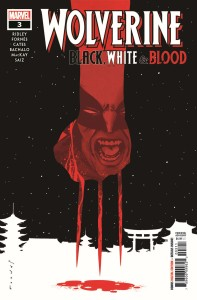 WOLVERINE BLACK WHITE BLOOD #3 (OF 4)