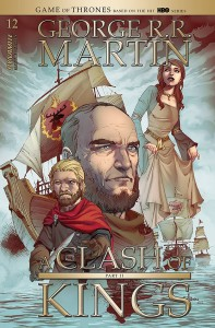 GEORGE RR MARTIN A CLASH OF KINGS #13 CVR B RUBI