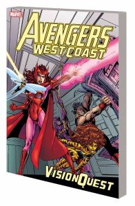 AVENGERS WEST COAST VISION QUEST TP NEW PTG