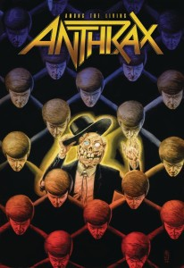 ANTHRAX AMONG THE LIVING TP