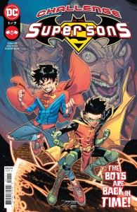 CHALLENGE OF THE SUPER SONS #1 (OF 7) CVR A JORGE JIMENEZ