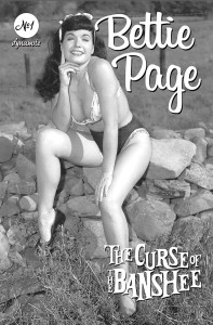 BETTIE PAGE & CURSE OF THE BANSHEE #1 CVR E BETTIE PAGE PIN UP