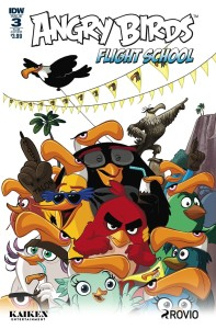 ANGRY BIRDS FLIGHT SCHOOL #3 SUBSCRIPTION VAR